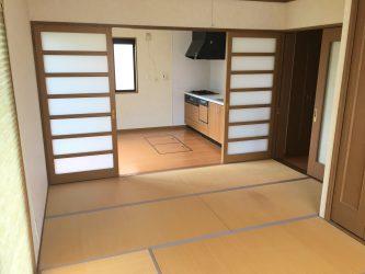 キッチン+和室